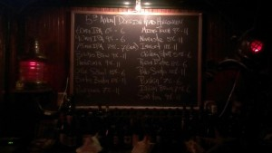 5th Annual Dogfish Head tap list - The Dive Bar Worcester MA